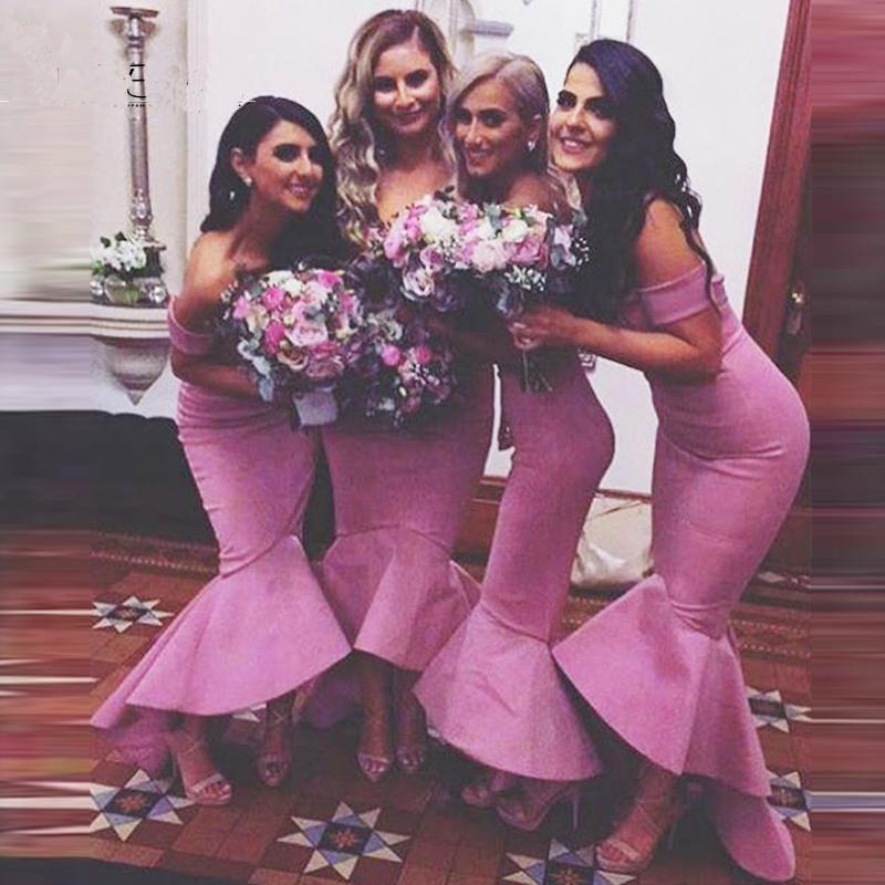 B5 Bridesmaid Dresses,Mermaid Bridesmaid Dresses,Off Shoulder ...