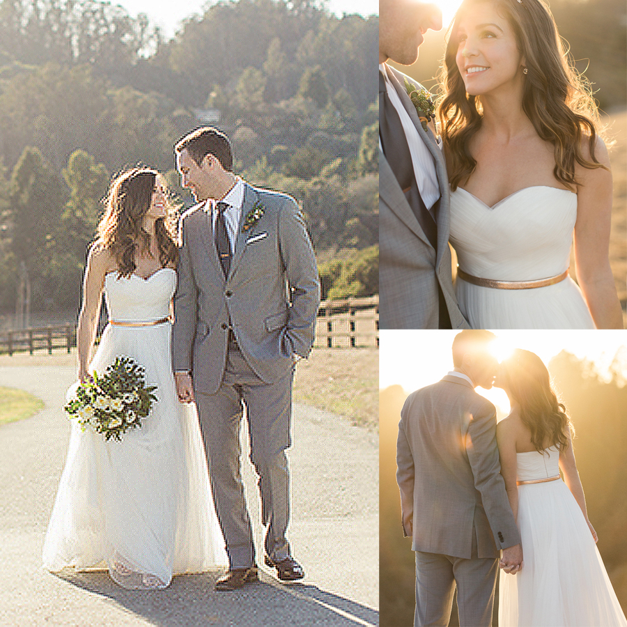 A Line Tulle Wedding Dress with Waistband 2061 · Onlyforbrides ...