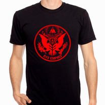 """Empire Seal"" Mens T-Shirt (Red)"