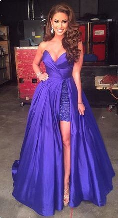 Charming Prom Dress Satin Prom Dress Sweetheart Prom Dress