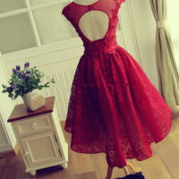 Christmas Party Dresses Knee Length 14