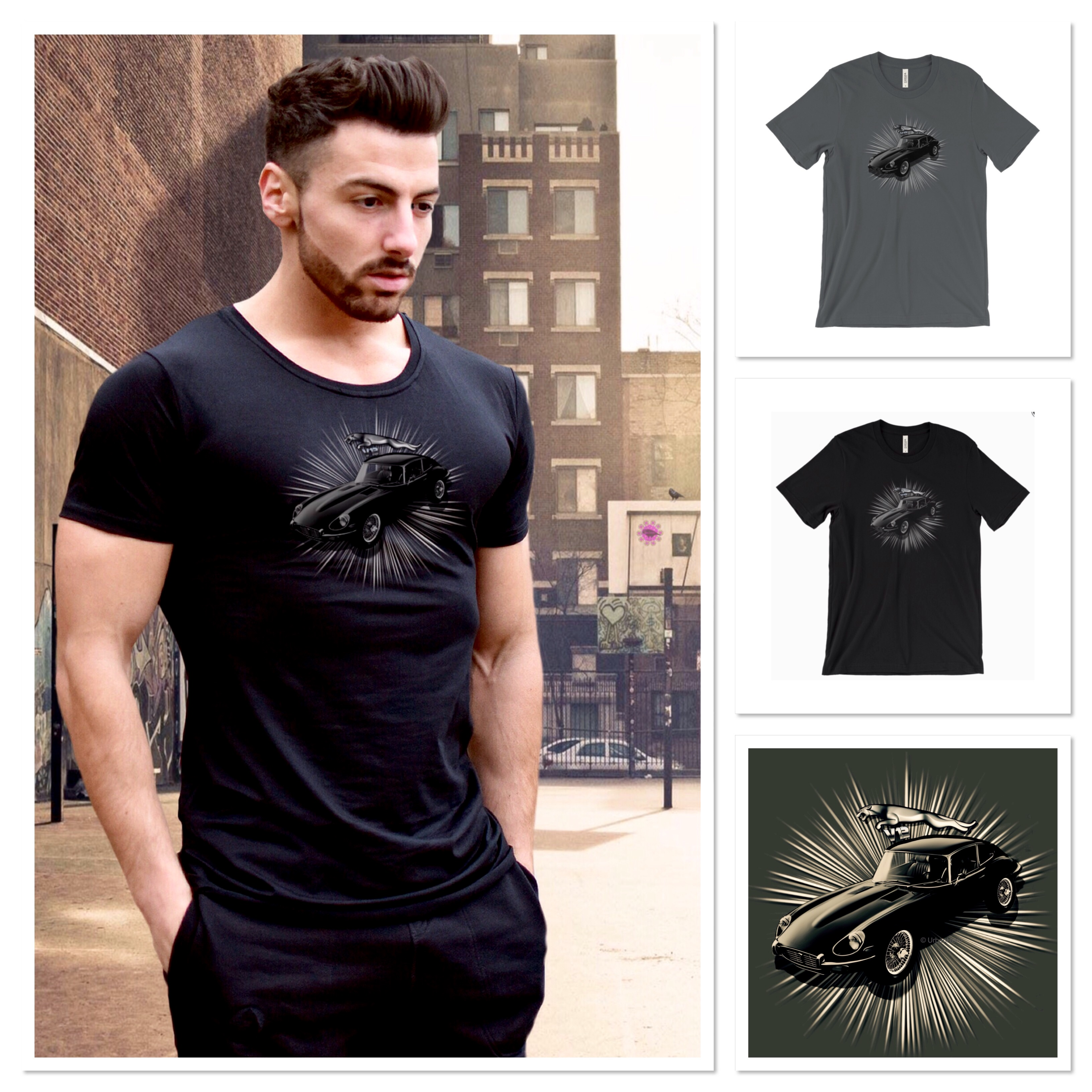 jaguar clothing gallery fendi white shirts polo in it men shirt t for lyst