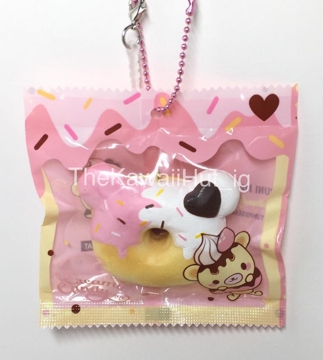 Donut Squishy Collection : The Kawaii Hut Creamiicandy Mini Yummiibear Donut Squishy Online Store Powered by Storenvy