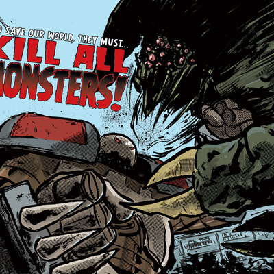 Kill all monsters! ashcan (limited edition)