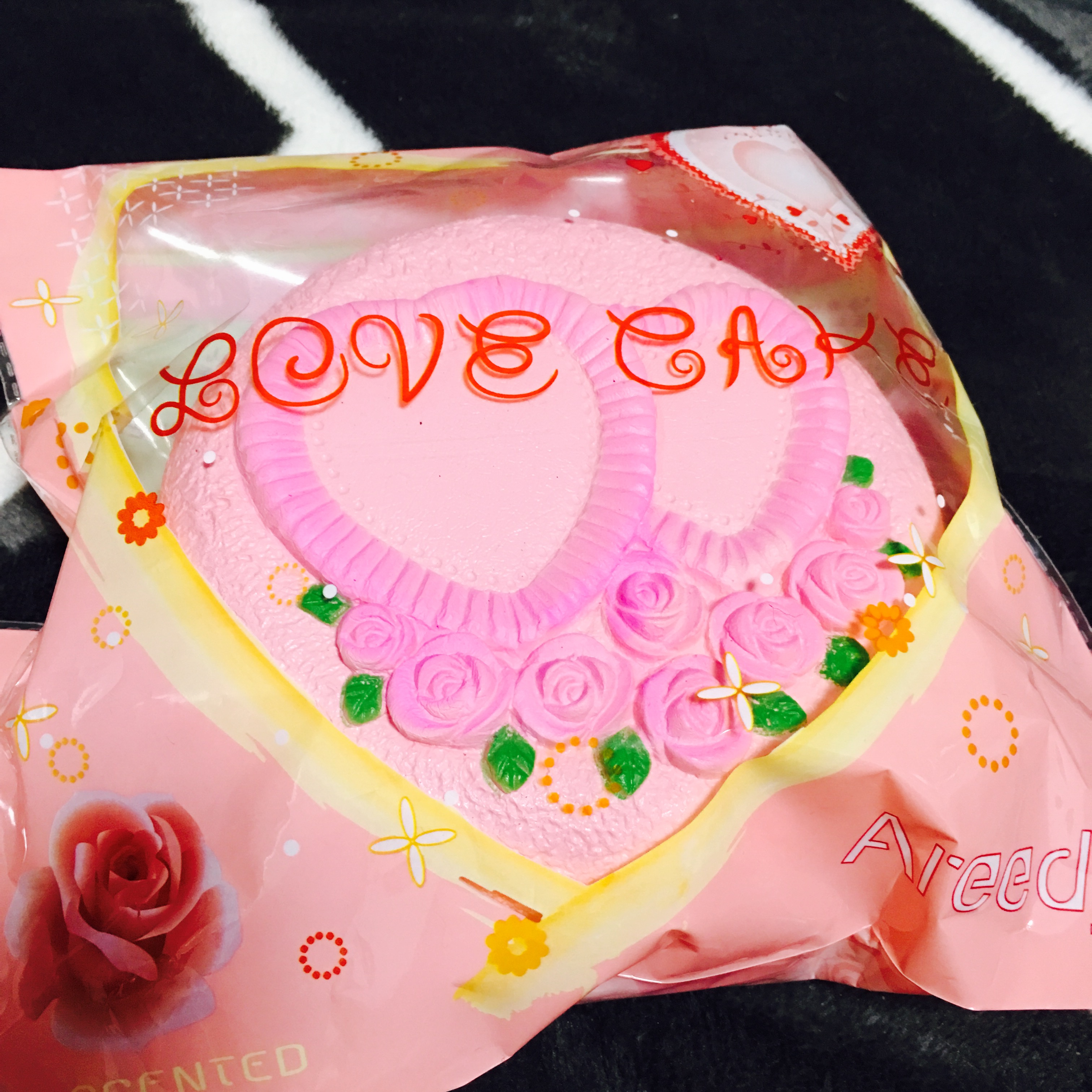 ~SquishyStuff~ Large SLOW-RISING!! 13cm Love Rose Cafe Squishy Online Store Powered by Storenvy