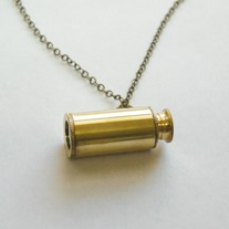 Telescope necklace - Thumbnail 1
