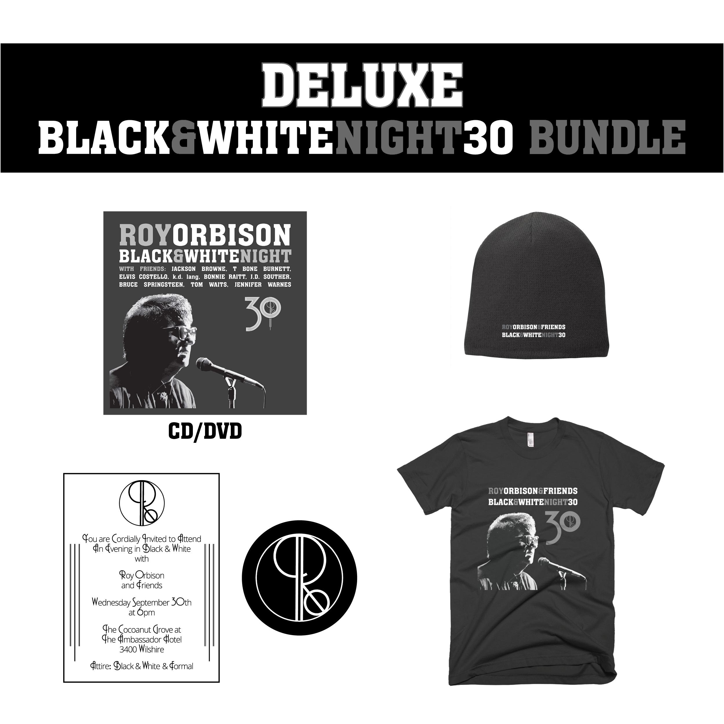 Deluxe black white night 30 cd dvd bundle