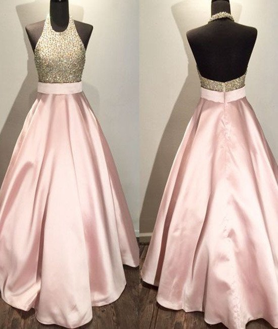 Pink Evening Dress