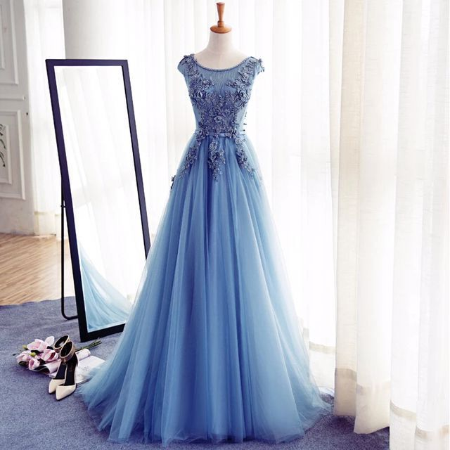 Tulle Prom Gowns
