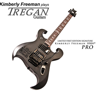 The kimberly freeman signature guitar by tregan: limited first edition syren xt pro