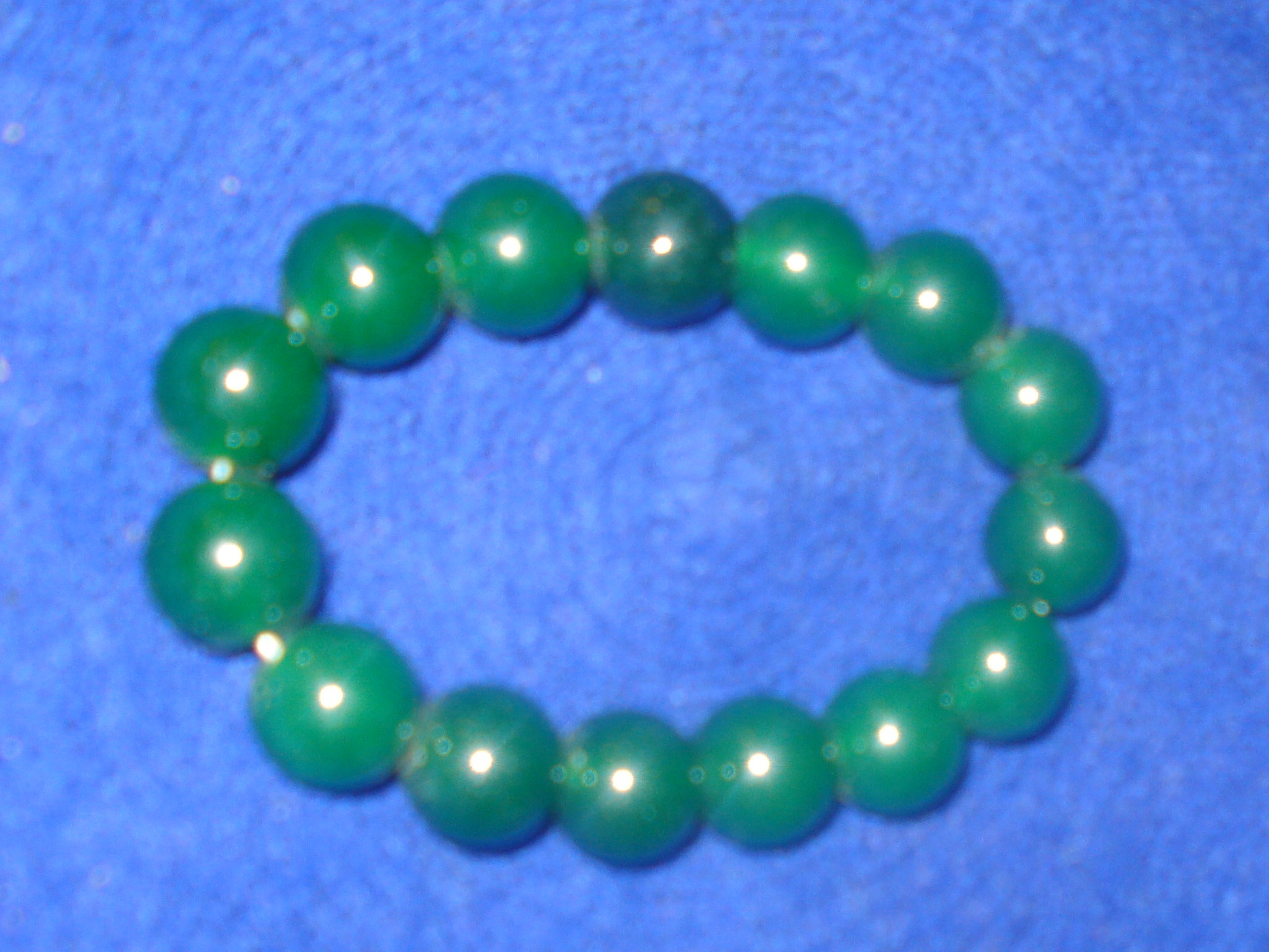 power living products property with card jade lotus group single genuine bracelet nephrite