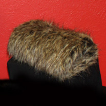 Raccoon Faux Fur Hand Warmer