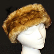 Light Mink Faux Fur Headband