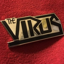Virus Logo Lapel Pin // Limited Pre Desert Offensive Tour Merch medium photo