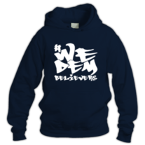We Dem Believers-Hoodie (white) medium photo