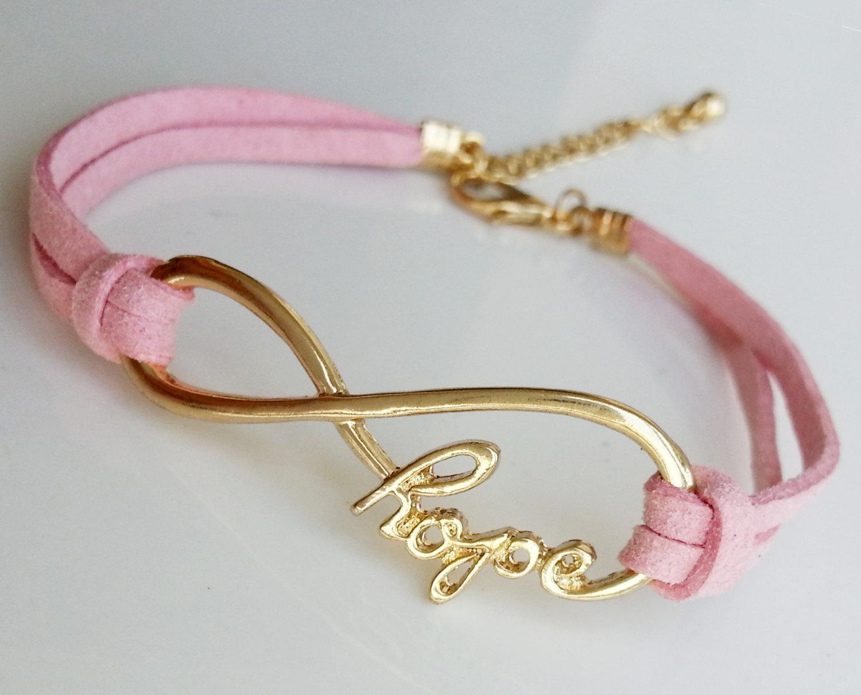 charm bracelet infinity hope bracelet boyfriend jewelry. Black Bedroom Furniture Sets. Home Design Ideas