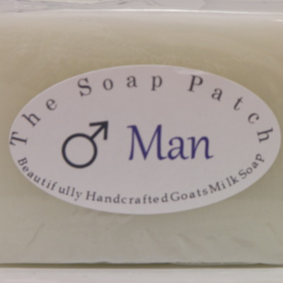 """man"" goats milk soap"