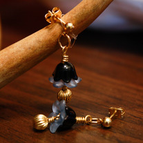 Dark Little Dangle Earrings