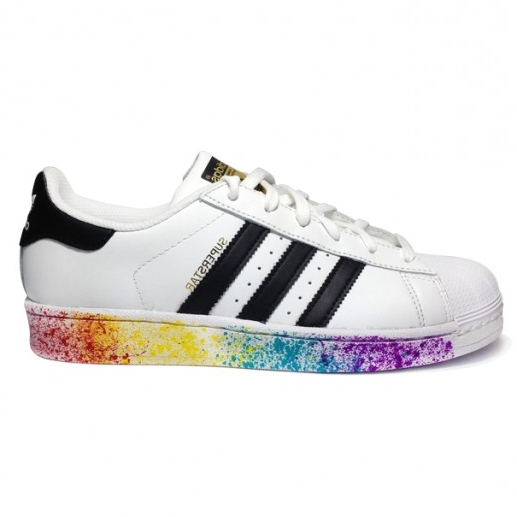 adidas superstar rainbow buy