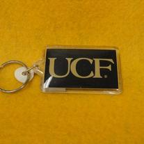 Black UCF Key Chain