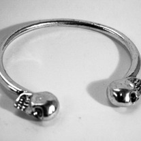 """Memento Mori"" Skull Bangle (OUT OF STOCK)"