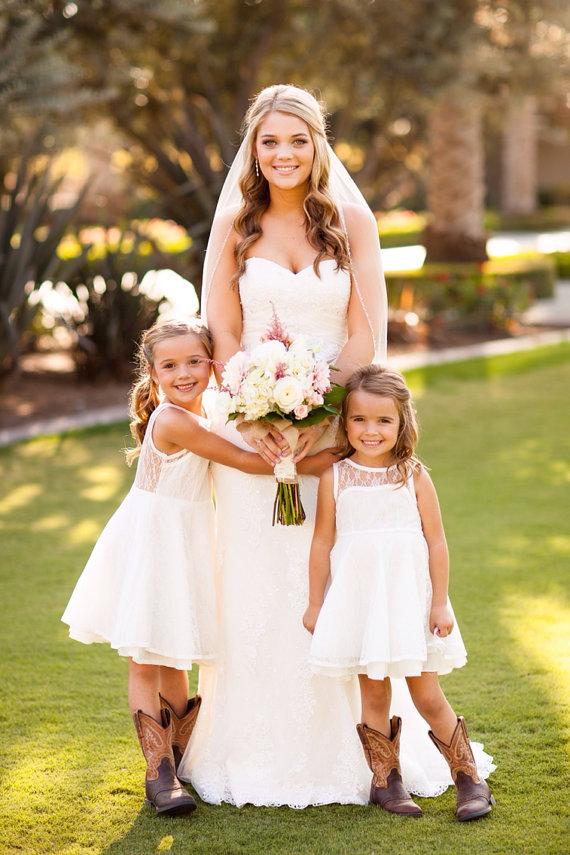 Lace flower girl dress love the flower girls in for wedding baby lace flower girl dress love the flower girls in for wedding baby girl dress lace flower mightylinksfo