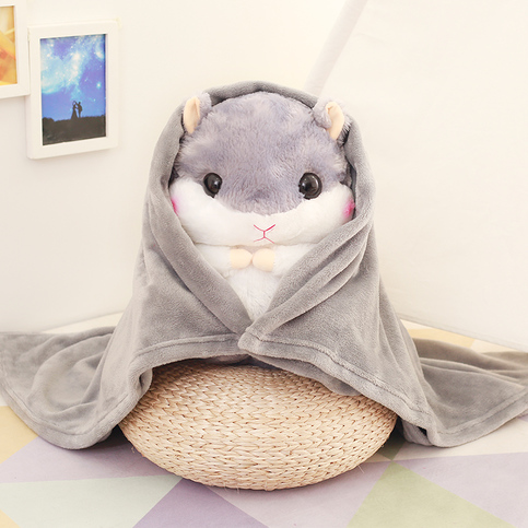 Cute Little Hamster Doll Pillow Plush Gift Idea Blanket GG514 ? Girly Girl ? To Alice ? Online ...
