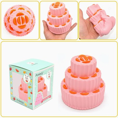 Tier Butterfly Cake Squishy