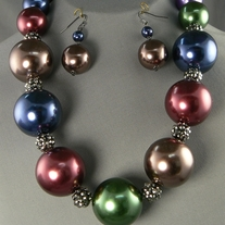 NEW! Extra Large Bead Necklace