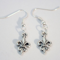 Small Fleur de Lis Earrings (SOLD OUT)
