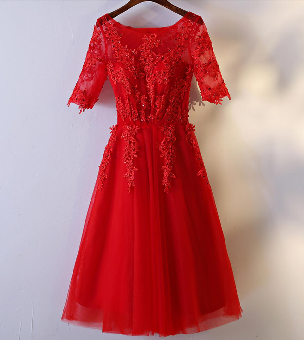 Red Prom Dresses Affordable