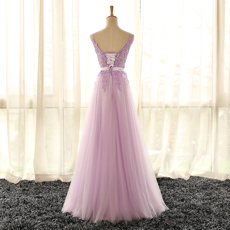 Cheap Prom Dresses by SweetheartDress · Elegant lilac tulle long ...