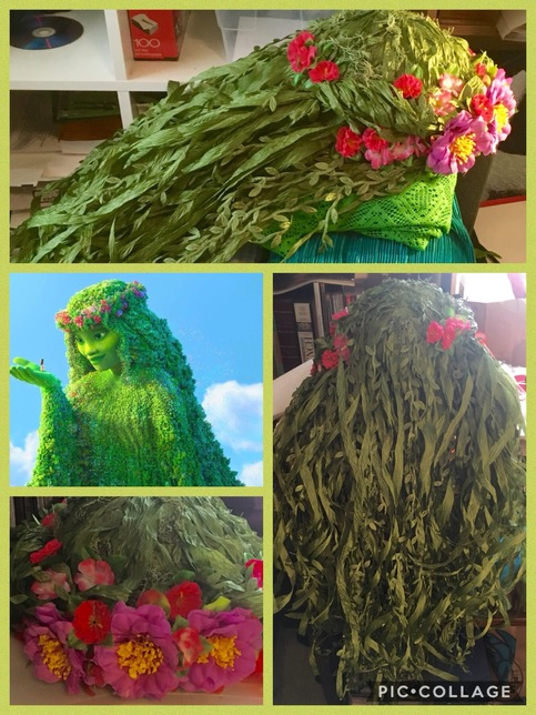 Te Fiti Wig Adult Or Child Size Moana Costume On Storenvy