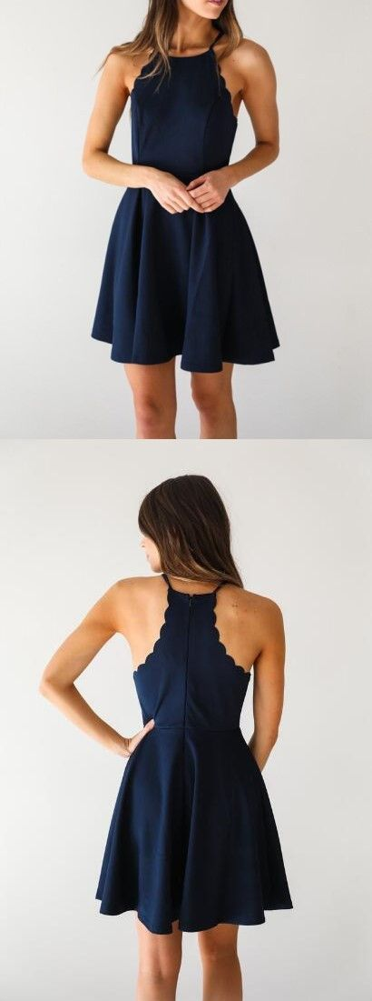 New Sexy Homecoming Dressesparty Gownslace Cocktail Dresses Navy