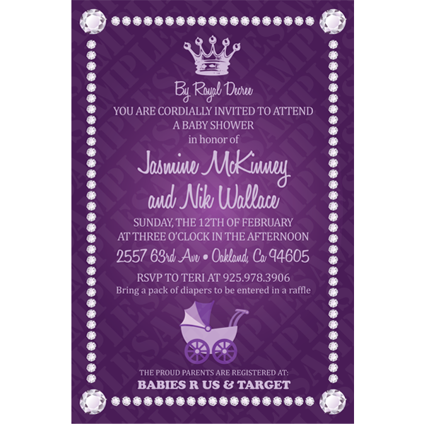 royal baby shower invitations royal theme baby shower