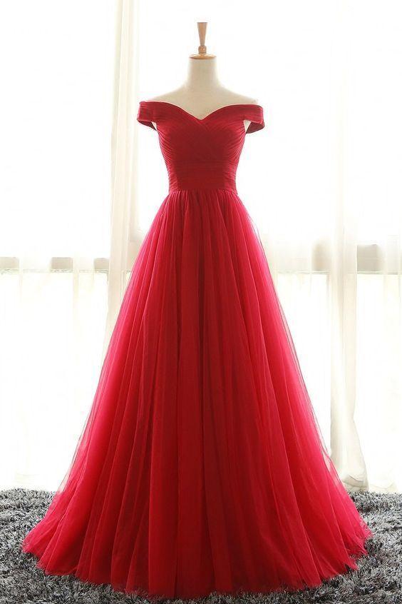 Red Dress Prom Dresses