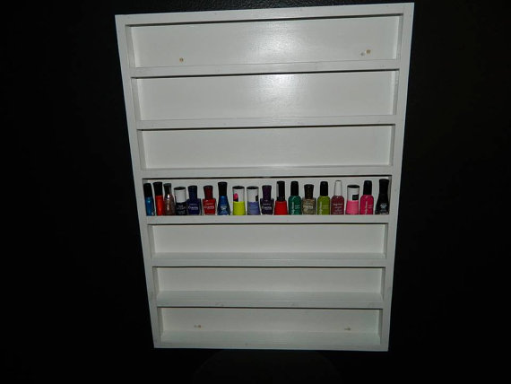 Nail Polish Rack Wall Mount · Cube of Hearts · Online Store Powered ...