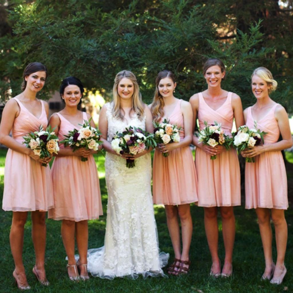 short bridesmaid dresssleeveless bridesmaid dressessky
