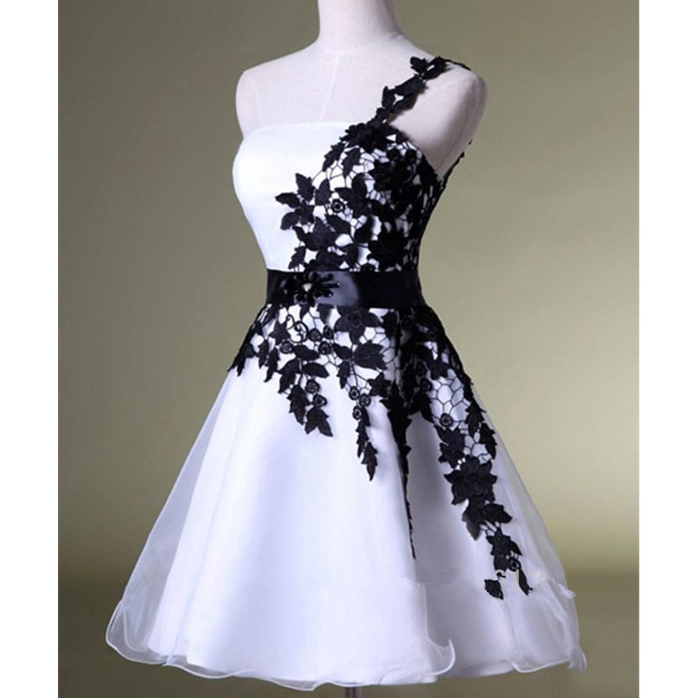 E291 Elegant Short Ball Gown Lace Prom Dresses,Lace Homecoming ...