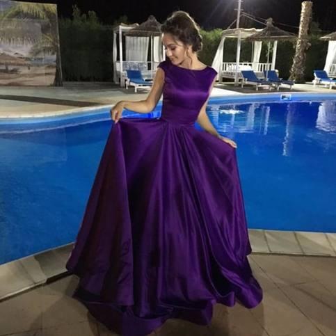 Charming Purple Backless Prom Dresslong Purple Formal Dress On Storenvy