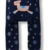 Deer Reindeer Legging Pants for Boy & Girl Unisex design Sizes from Baby Infant 3 mos to Kids 4T