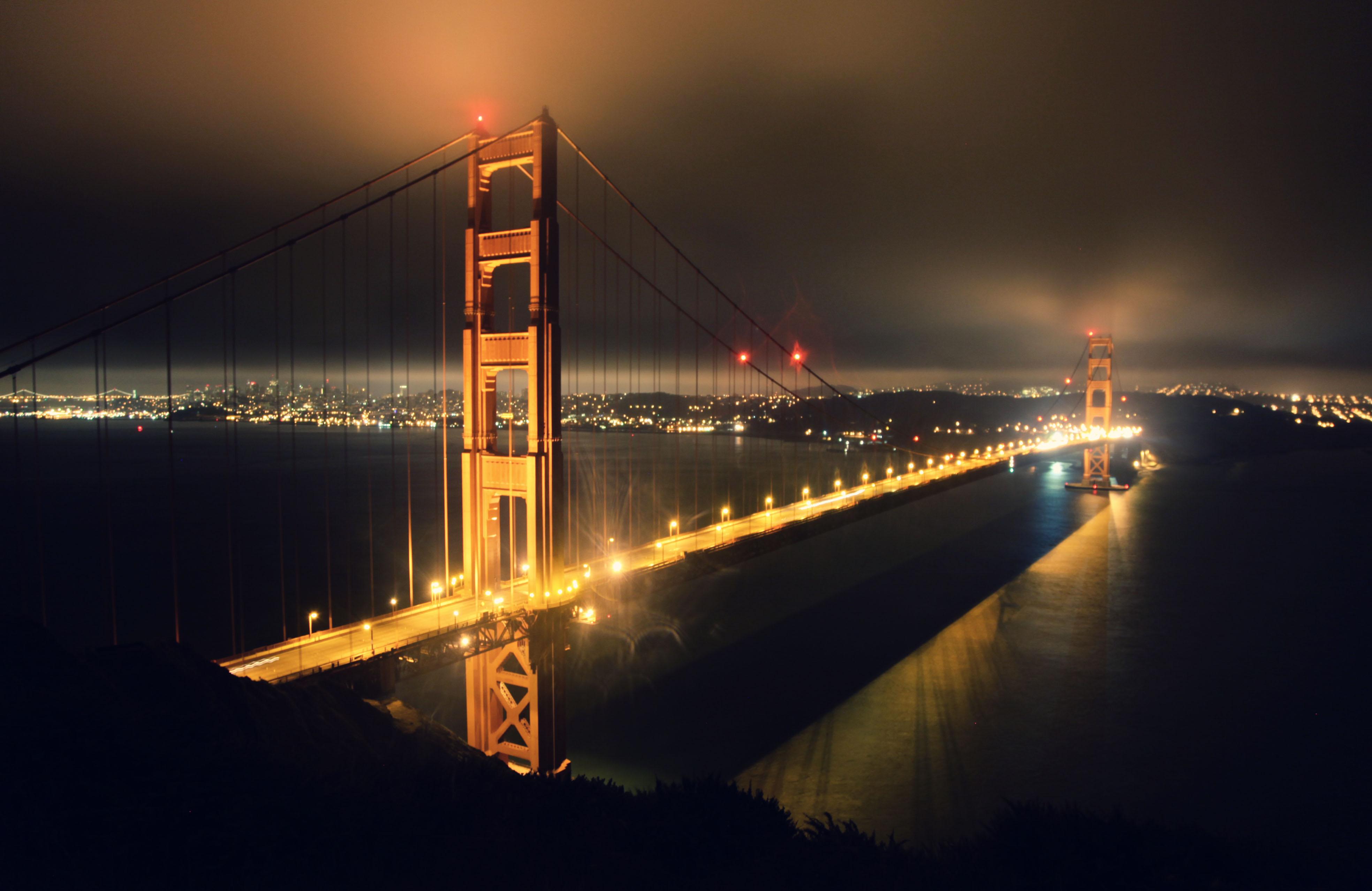 Kevin donnelly golden gate bridge san francisco for Golden night