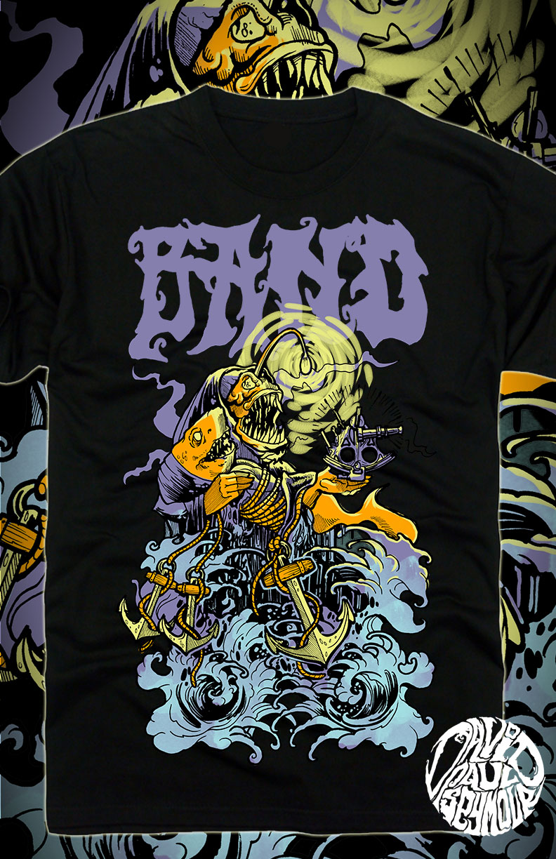 Band Shirt Designs For Sale | Band Tee Shirt Designs For Sale