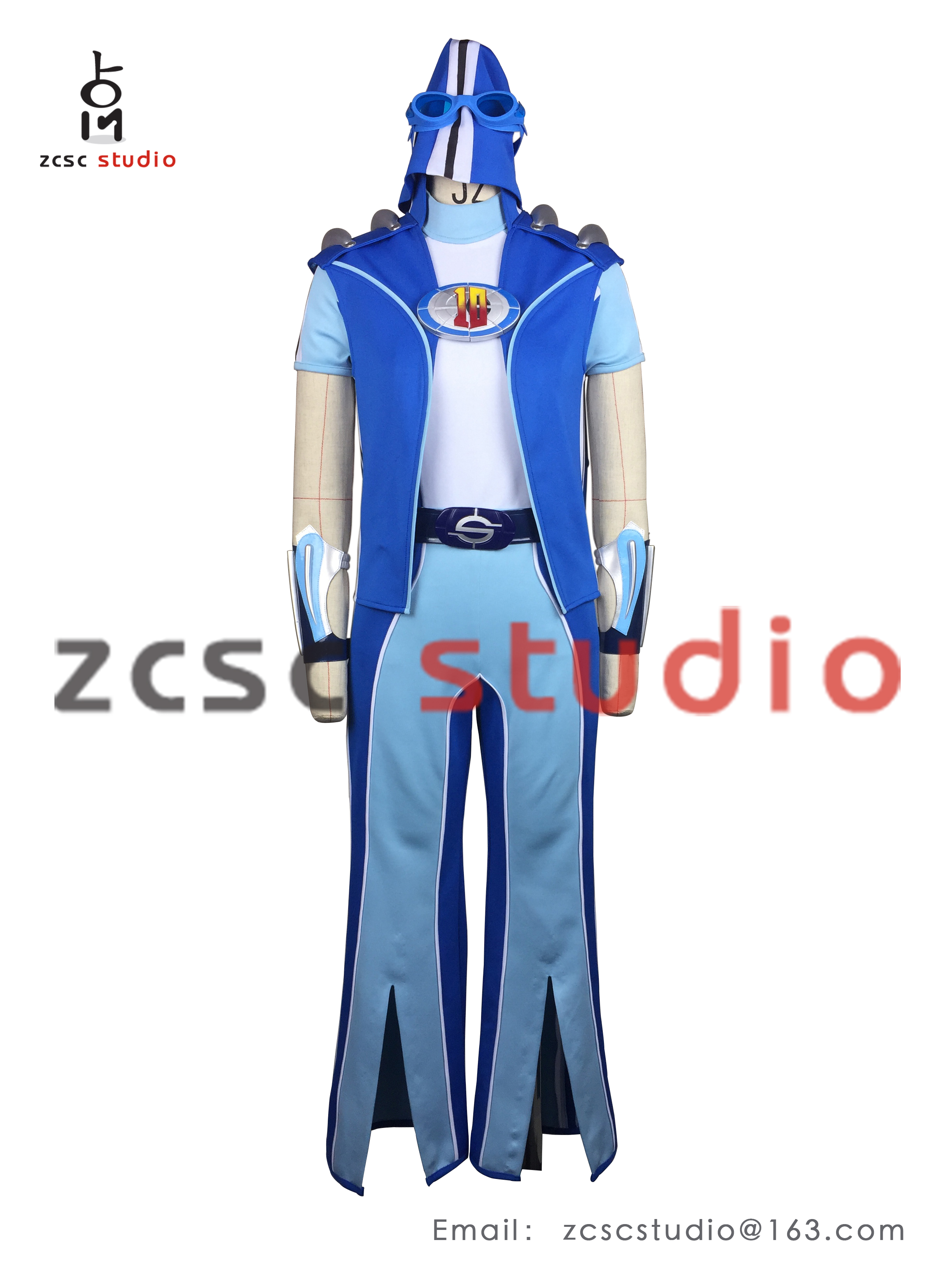 how to make sportacus costume