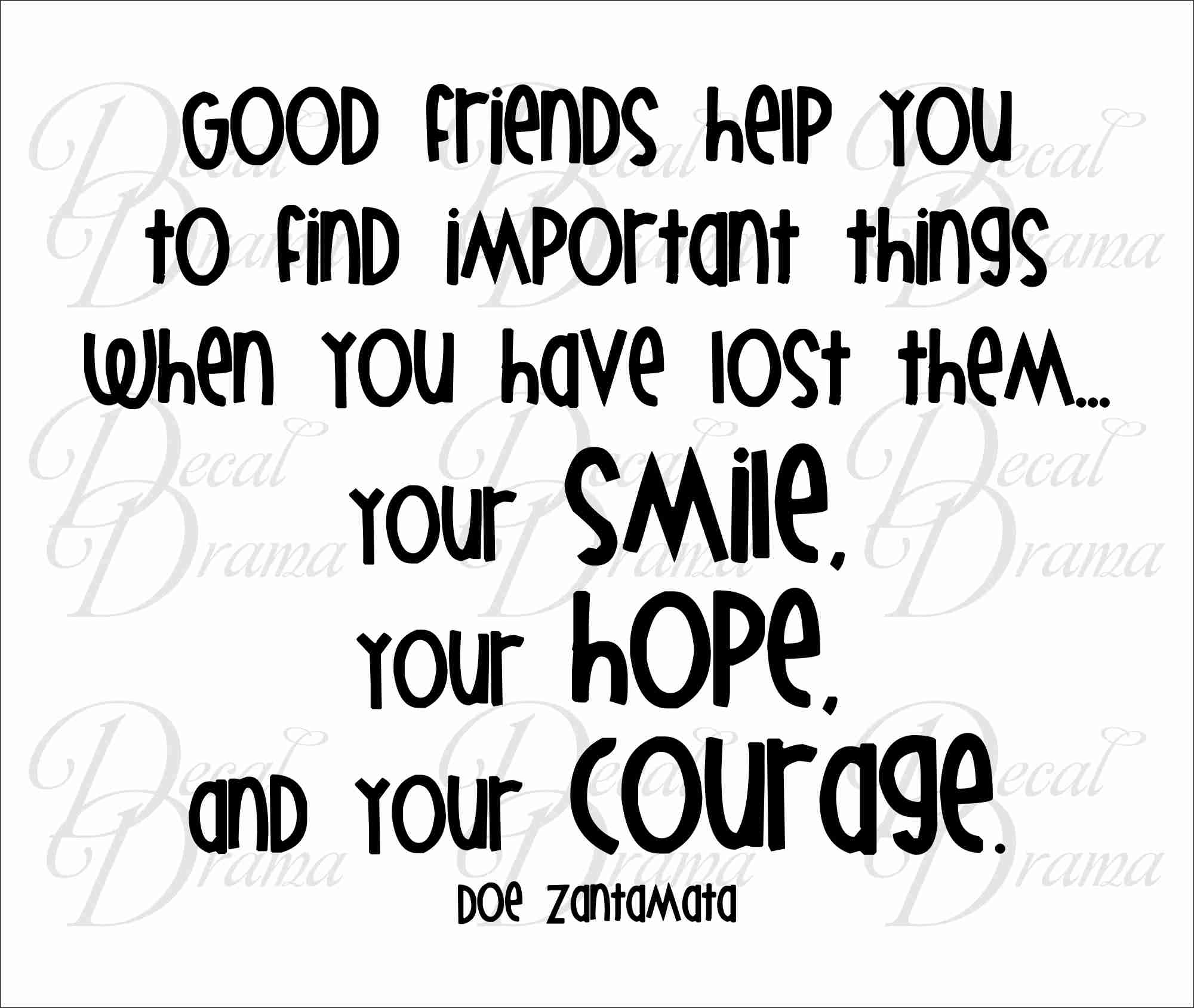Quotes About Good Friendship Good Friend Help Quotes Good Friends Support Quotes Quotesgram.