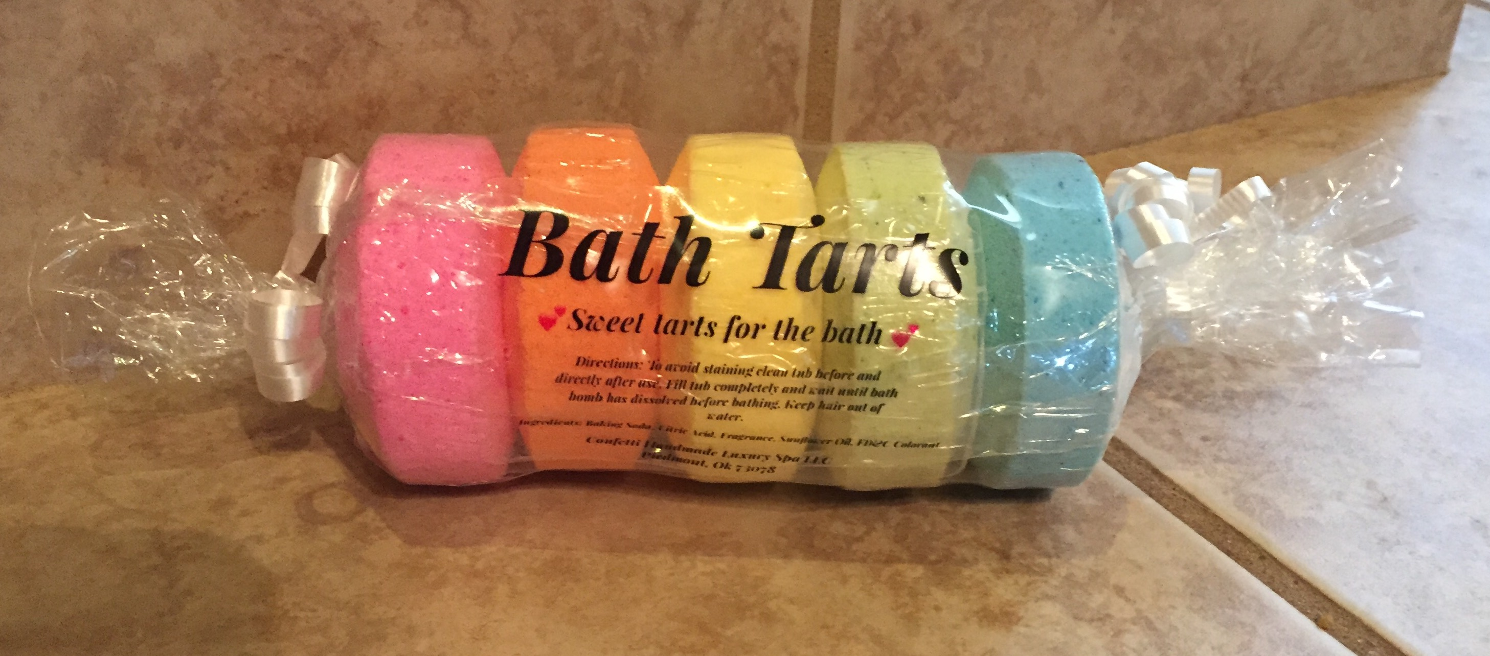 Bath Tarts · Confetti · Online Store Powered by Storenvy