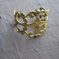 Antique Vine Ring