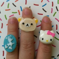 Cute Character Ring