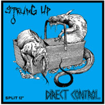 Direct Control / Strung Up split LP