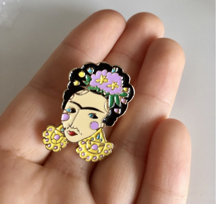 Frida Kahlo Pin · HxppyAlien Jewelry · Online Store Powered by Storenvy